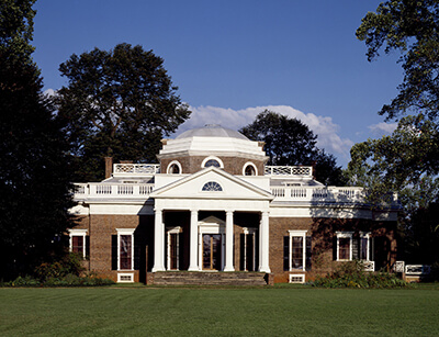 Monticello in Virginia